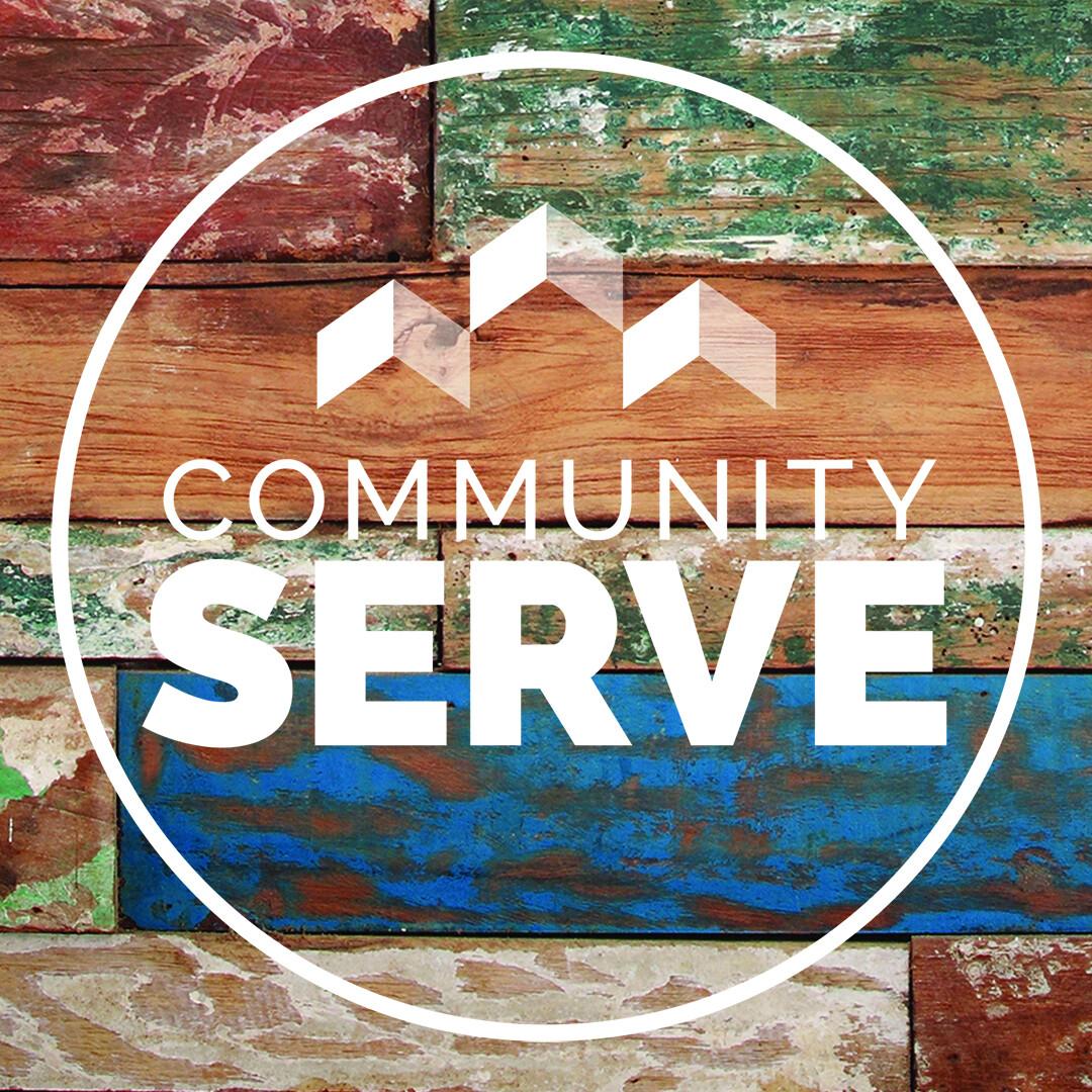 August 26 Community Serve - Serving at Hope Center
