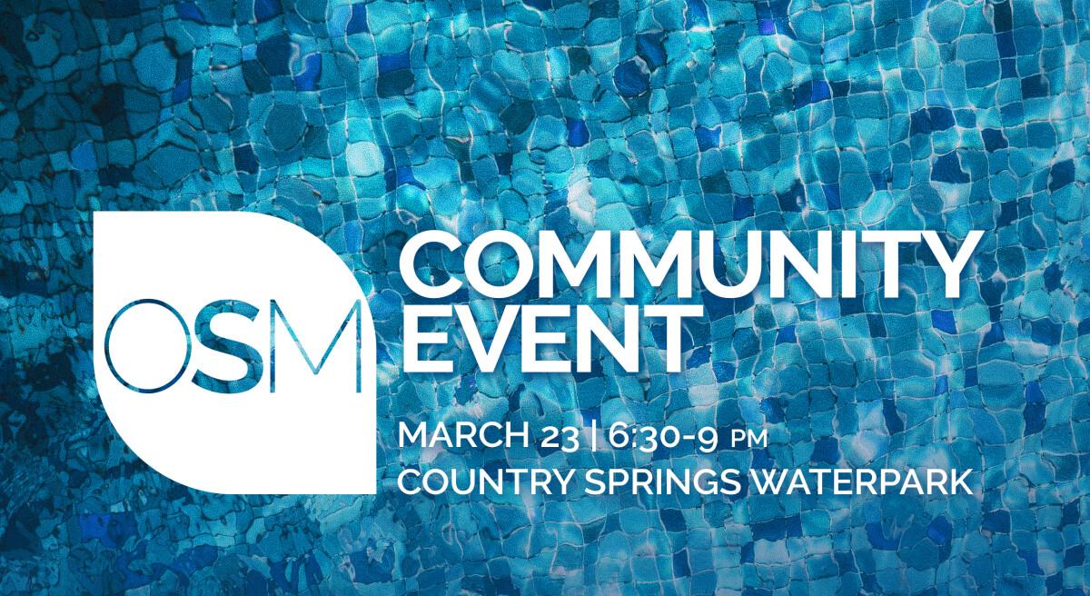 OSM Community Event