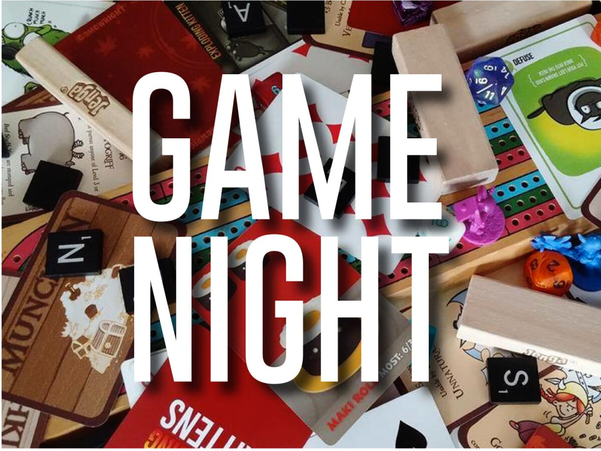 Middle School Game Night - January 2019