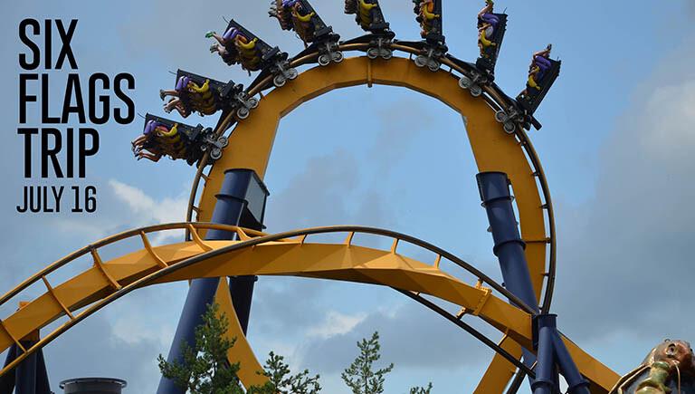 OSM Six Flags Trip