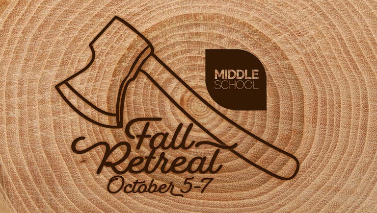 Middle School Fall Retreat