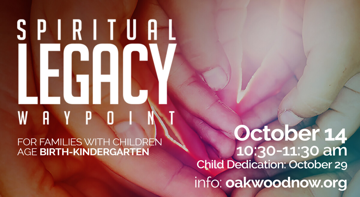 Cancelled: Spiritual Legacy - October 2018