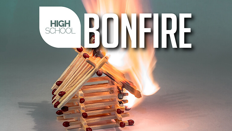 High School Bonfire: October 2018