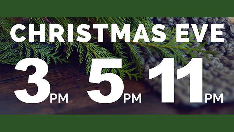 2018 Christmas Eve Services