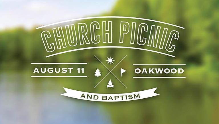 Church Picnic and Baptism