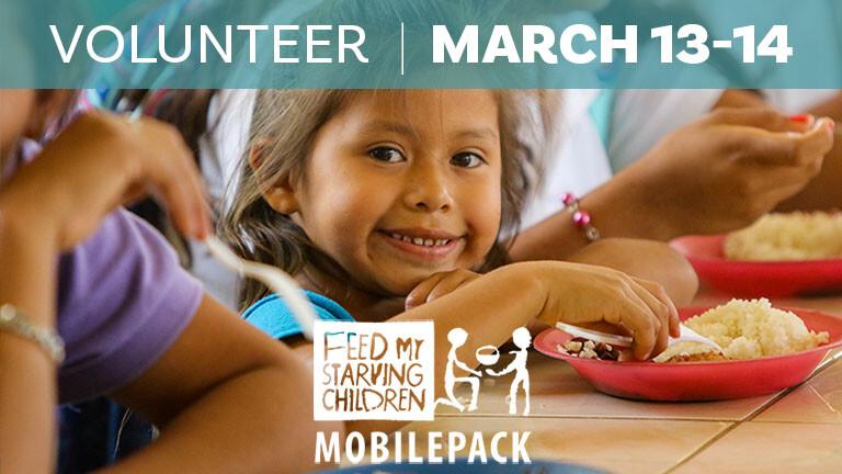 Feed My Starving Children FMSC MobilePack Event 2020