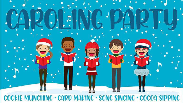 4th & 5th Grade Christmas Caroling Event