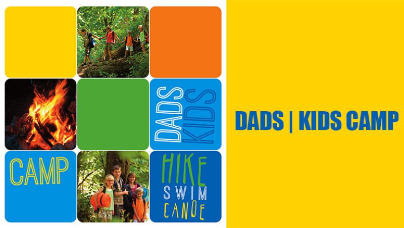 Dad   Kids Camping Weekend