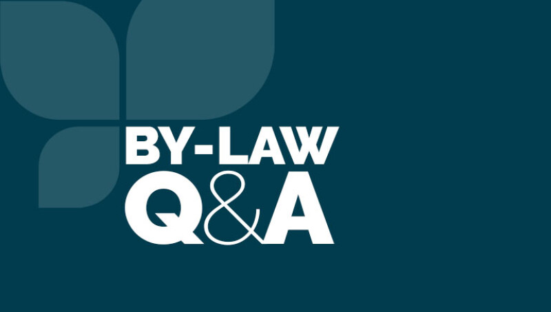 By-laws Q&A Session 2