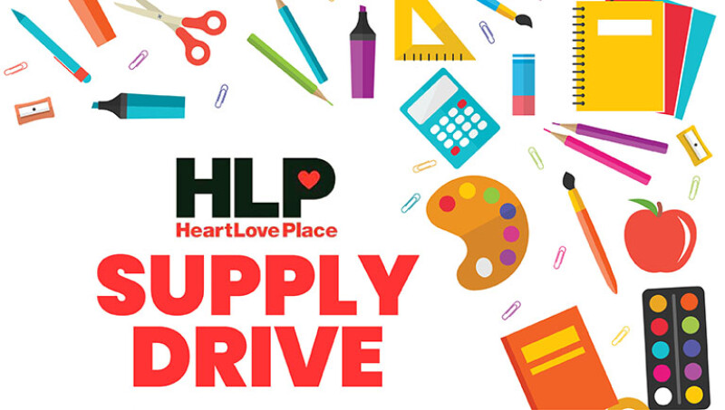 HeartLove Place School Supply Donation Drive